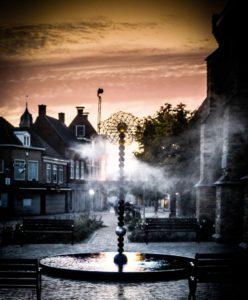 Oortwolk fontein Franeker_plat